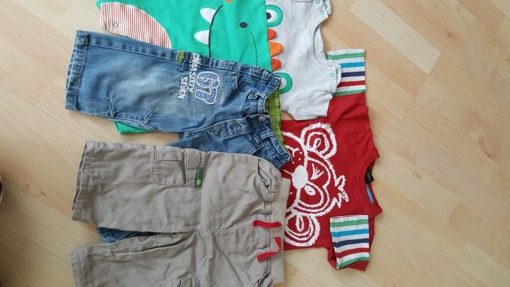 Girls' Clothing (newborn-5t) Childs Next Trousers Size 6-9 Months Baby & Toddler Clothing