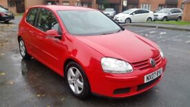 VW GOLF 5 SPORT 2.0 TDI 140BHP - FULL SERVICE HISTORY, EXCELLENT CONDITION