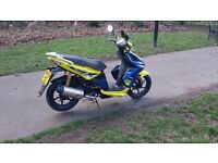 Kymco super 8 moped