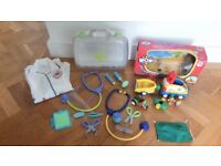 BOXED WOW OFF ROAD OLLIE'S OUTDOOR PURSUITS CAR & ELC MEDICAL CASE + DOC'S COAT RRP£50