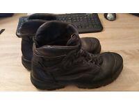 Caterpillar Men's Steel Toe Cap S3 Safety Boots, Black, 9 UK, 10 US, 43 EUR