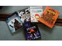 Various game guides Xbox and Nintendo