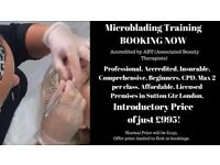 Accredited Microblading Training Course, Sutton, Surrey. £995 offer price!