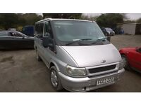 ford transit torneo swb 2003-03-plate, 2000 cc turbo diesel, twin sliding doors, 9 seater,