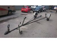 boat trailer / newly built