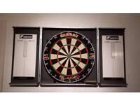 2 darts board one with case... no darts