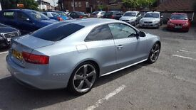 AUDI A5 S LINE BLACK EDITION QUATTRO ONLY 47K MILEAGE 12 MONTHS MOT 6 MONTHS NATIOWIDE WARRANTY