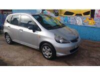 Honda Jazz 1.2 petrol 5 Door FSH, 12 months MOT, Cheap Reliable Car