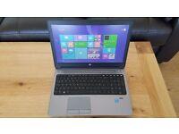 HP ProBook 650 G1 Core i5-4210M 4GB Ram 500GB HDD DVD/RW Windows 8.1 Pro Laptop