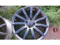 """Newly refurbished 17"""" wheels"""