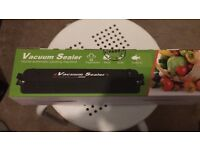 Food Vacuum Sealer Machine (new)