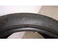 Dunlop 295x35 R21 part worn tyres
