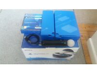 psvr + camera + 2 games + 1 move controller playstation 4 virtual reality headset