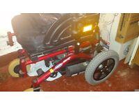 invacare mirage power wheelchair