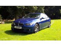 2009 BMW 325D COUPE M SPORT Lemans Blue 330diesel