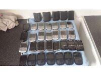 Job lot of black berry phones