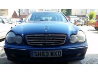 Mercedes Benz C-Class Estate 2.7 Diesel Sports