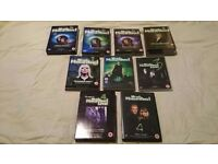 Selection of most haunted dvds