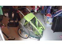 Croozer Kid for 2 bike trailer and running stroller