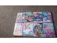 37 Barbie Dvds. No Doubles