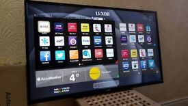 LUXOR 50-inch Smart LED TV,built in Wifi,Freeview PLAY ,Netflix, Fully Working