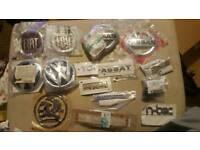 Various car badges, parking sensors for VW FIAT Vauxhall Renault NISSAN