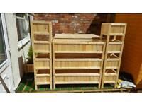 For sale garden tables end planters