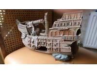 Large Fish tank ship.