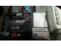 Brand new Sealy posture pedicure pillow x 4