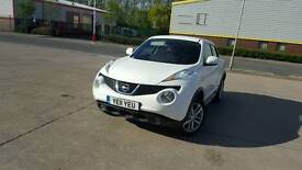 2011 NISSAN JUKE SPORT 1.5 DCI IN WHITE DIRECT LEASE CAR