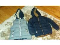 Age 2-3 next boys gilet and coat