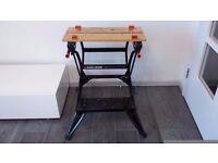 Foldable Workmate - Black & Decker - Dual Height - Workbench WM536