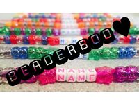 Personalised Sparkle Bead Dummy Clips