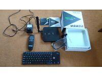 Minix neo x7 android tv box, Rii wireless keyboard, wireless remote. OPEN TO OFFERS