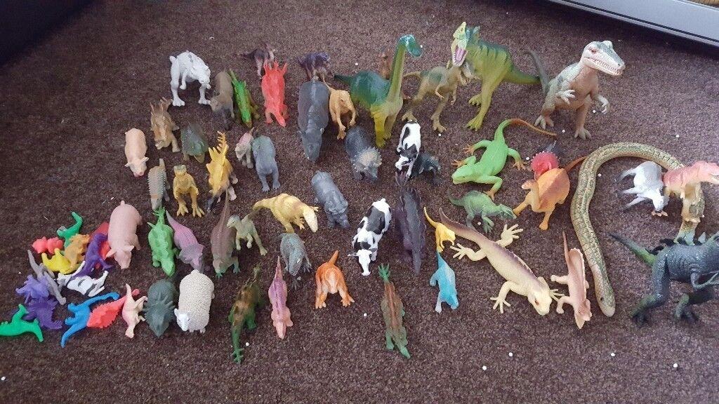 Toy animals bundle