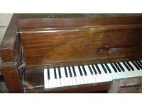 Mini grand upright piano