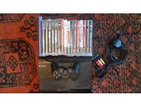 PS3 super slim 25gb with controller and games bundle