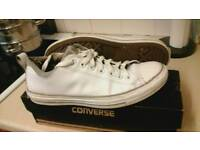 Converse all star mens leather trainers size 9