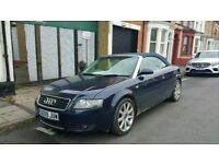 Audi A4 2.5 TDI Convertible Spares Or Repairs HPI CLEAR £1300 ONO
