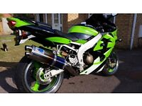 2000 Kawasaki Zx6r Ninja J1 with only 7000 miles from new