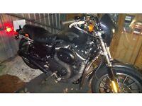 Harley Davidson Sportster Swap For Dyna