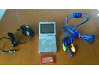 Gameboy sp and firered with sharing cable