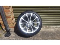 """Genuine OEM Audi A5 18"""" Sportback Alloy Wheel with Tyre"""