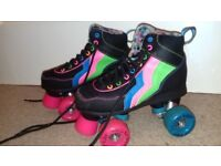 Rio Roller Boots, size one, excellent condition