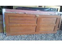 Wooden internal door available free
