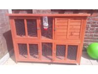 Rabbit hutch +thermal cover