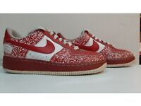 Nike Air Force 1- Limited Edition 'Nikebook' Size 6