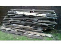 Large quantity o wood