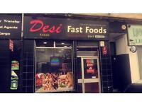 Takeaway for sale / pizza kebab curry grill