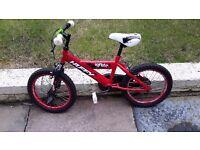 Kids 16 inch mountain bike